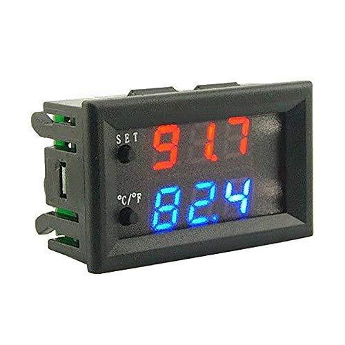 SODIAL Dc 12V Led Digital Thermostat Temperatur Regler Temp Sensor Kontrol W2809 -