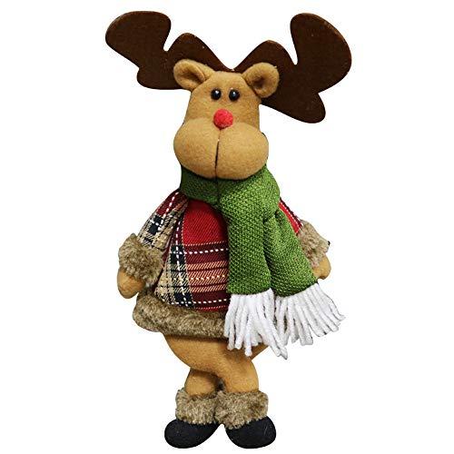 Ears Christmas Ornaments Home Decor Xmas Decor Weihnachtsverzierung Sankt-Schneemann-Ren-Toy Doll...