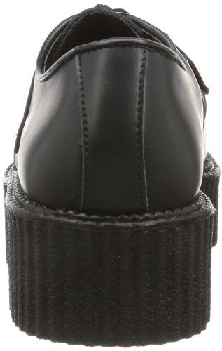 Demonia Creeper-402, Baskets Basses homme Noir
