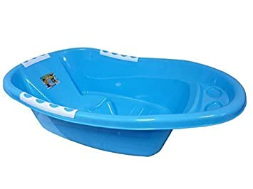 Plastic Large Portable Baby Newborn Bathtub kids bath Children ...