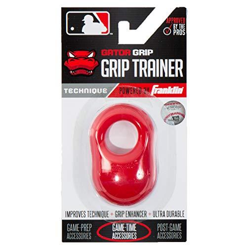 Gator Grip, Unisex-Erwachsene, Franklin Sports MLB Gator Grip: Grip Trainer, rot ()