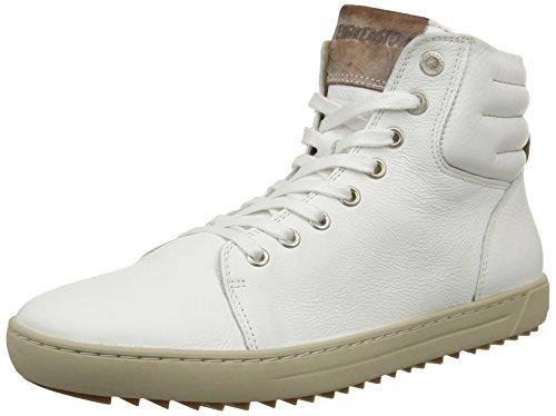 Birkenstock Bartlett, Sneakers Hautes femme Blanc (White)