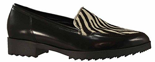 Gabor, chaussons pour femme, 31.422 Noir - schwarz/bianco-ner