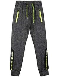 09cccf1e8622 ... Jeans : MECshopping Milano. MR JEK Pantaloni sportivi elasticizzati con  tasche e polsini alle caviglie bambino