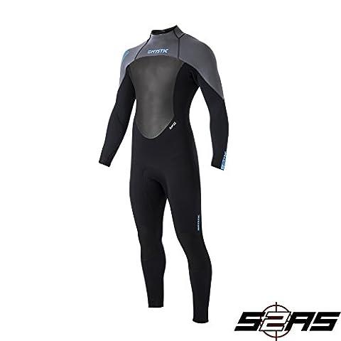 Mystic Star 5/4 GBS Sealed Seam Wetsuit Black/GREY 140040 Wetsuit Sizes - XXLarge
