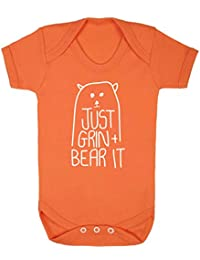 Flox Creative Baby Vest Just Grin and Bear It
