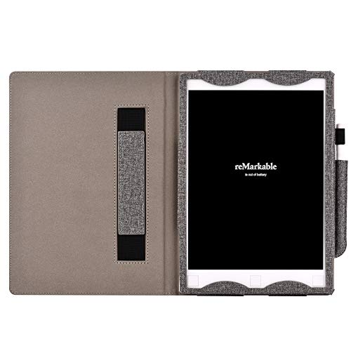YuanZhu Remarkable Digital Paper 10.3 Case, Book Folio Cover with Pen Pocket for Remarkable Digital Paper