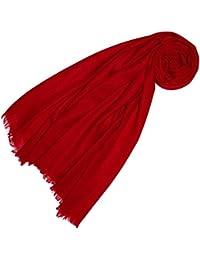 LORENZO CANA Luxus Pashmina Damenschal Schaltuch 100% Kaschmir leicht kuschelweich Kaschmirschal Kaschmirtuch Kaschmirpashmina einfarbig