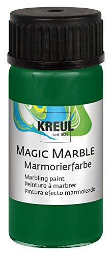 KREUL 73215 Magic Marble Marmorierfarbe, 20 ml, grün