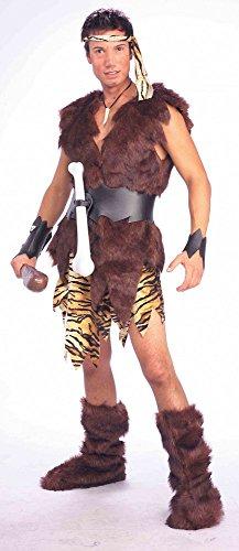 Caveman Kostüm Für Erwachsene - Herren-Kostüm Höhlenmensch Gr. M Caveman Steinzeit-Mensch