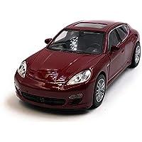Onlineworld2013 Modelo de automóvil Porsche Panamera S Rojo Auto Escala 1: 34-39 (