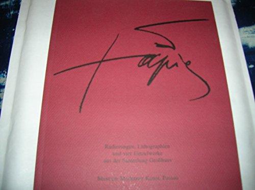 Antoni Tàpies: Radierungen, Lithographien und vier Einzelwerke aus der Sammlung Großhaus
