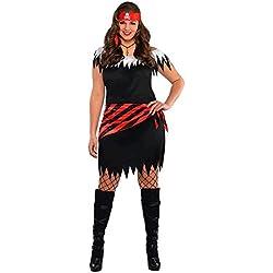 Disfraz para mujer de pirata.