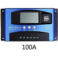 iBellete Solarregler 30A / 40A / 50A / 60A / 100A MPPT mit Autofokus-Strom Hocheffizienz-Lade- und Entladestromanzeigefunktion