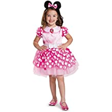 Disguise 67807L Pink Minnie Classic Tutu Costume, Large (4-6x) by Disguise