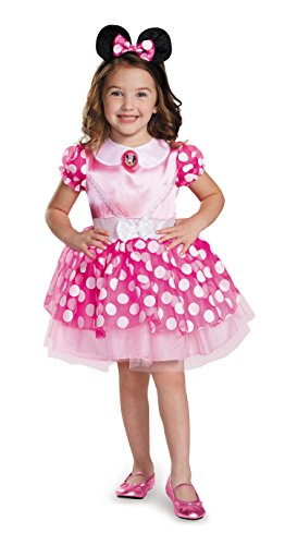 Disguise 67807S Pink Minnie Classic Tutu Costume, Small (2T) by ()