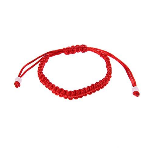 JUNESUN Armband Handgefertigt Glück Stricken Rote Schnur Geflochtene Freundschaft Liebhaber Armbänder & Armreifen