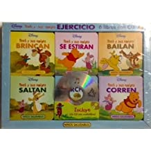 Disney Pooh y Sus Amigos Ejercicio (Pooh and Friends Exercise) (6 Board Book, Travel Pack, CD)