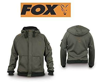 Fox Int Veste à capuche pour homme Vert Taille L