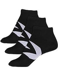Converse Quater Stamp Logo Socken Damen grau schwarz w