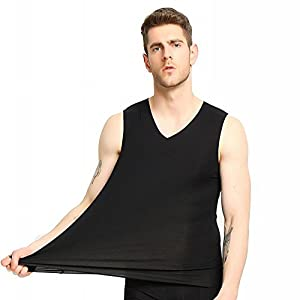 NBX Weste der Männer ohne Eignungeignung Festes Jugendsport-Durchbosenhemd Einfarbige Sleeveless Weste