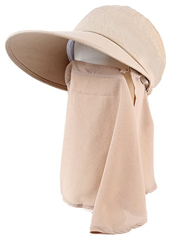 Capuchon femelle avec anti-UV pliant en plein air Sun Hat Housse de vélo Sunscreen ( Couleur : 7 ) 6