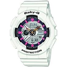 Casio Baby-G – Reloj Mujer Analógico/Digital con Correa de Resina – BA-110SN-7AER