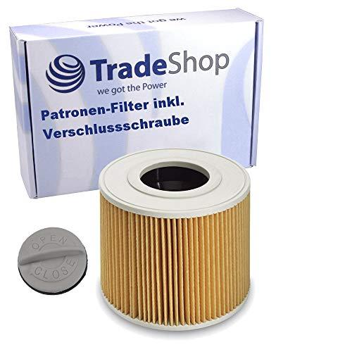 Patronen-Filter inkl. Verschlussschraube für Kärcher NT 48/1 1.428-620.0 NT 48/1 TE 1.428-625.0