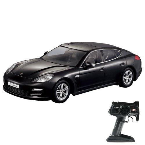 Preisvergleich Produktbild Porsche Panamera - RC ferngesteuertes Lizenz-Fahrzeug im Original-Design, Modell-Maßstab 1:14, Ready-to-Drive, Auto inkl. Fernsteuerung und Batterien, Neu