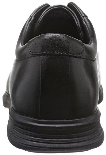 Rockport Dressports 2 Lite Cap Toe, Chaussures à Lacets Homme Noir - Noir (cuir noir)