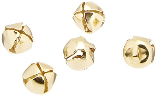 Darice retailsource Holiday Jingle Bells - Gold - 1/5,1 cm - 144piece, 1 Packung (Bells Gold Jingle)