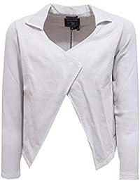 Woolrich 2338Y Felpa Cardigan Bimba Girl Grey Cotton Open Sweatshirt b38820881989
