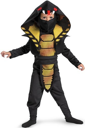 Cobra Ninja Costume Child Large 4-6