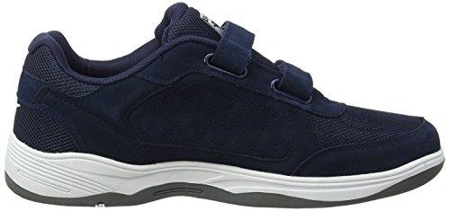 Gola Belmont Suede Velcro, Scarpe Sportive Indoor Uomo Blu (Navy De)