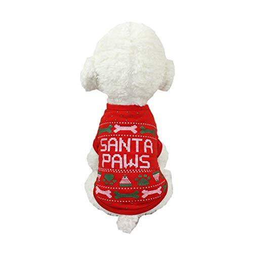 Für Kostüm J Dress Fancy - Smoro Hund Kleidung Weihnachten Kostüm niedlichen Cartoon Kleidung für kleine mittlere Hund Outfits Weihnachten Bekleidung