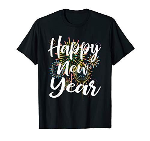 Jahr Kostüm Frohes Neues - Frohes Neues Jahr Silvester 2020 Shirt Mit Feuewerk Geschenk