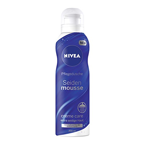 Nivea Seiden Mousse Creme Care, 6er Pack (6 x 200 ml)