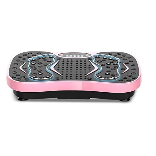 YUHT Fitness Vibrationsplatte, Vibrationstrainer Vibration Plate Plattform Übung Oszillierende Plattform Mit 10 Sportmodi Und 99 Stufen Geschwindigkeiten Anti-rutsch-oberfläche Gym Fitness