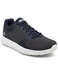 Skechers Men's Navy/White Go Walk City Mesh Sport Shoes