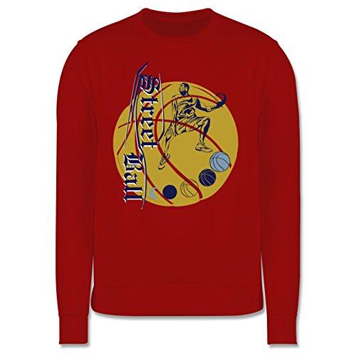 Basketball - Basketball - Herren Premium Pullover Rot