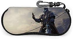 World of Warcraft Arthas Menethil-Brillenetui, tragbares Brillenetui mit Reißverschluss und Brillenetui