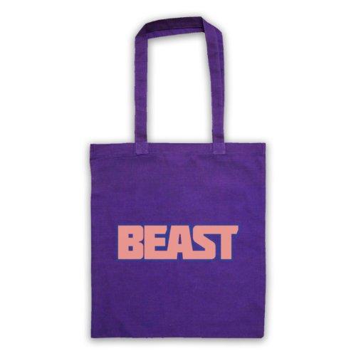 Beast-Borsa da palestra, motivo: aforismi [lingua inglese] Viola