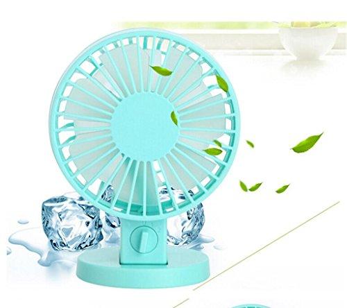 BourneTech Ventilador portátil ventilador mini ventilador usb para viajar, pescar, acampar, senderismo, mochilero, barbacoa, con cochecito de bebé, picnic, ciclismo, canotaje