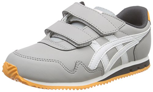ASICS Sumiyaka Ps, Baskets Basses Mixte Enfant Gris (grey 1301)