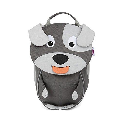 Affenzahn Kleine Freunde Rucksack Mini Hugo Hund Grau