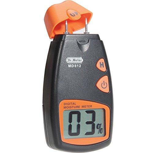 Dr.Meter MD812 - Medidor de humedad...