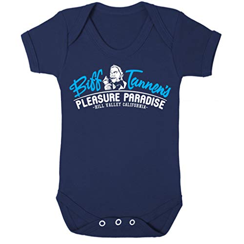 Back to The Future Biff Tannens Pleasure Paradise Baby Grow Short ()