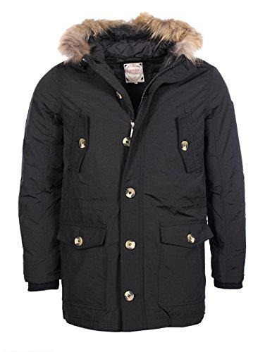 Kaporal Premium Uomo-Parka piumino Birgo nera inverno 2017 nero M