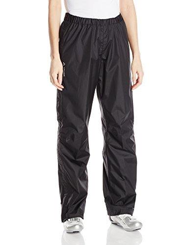 VAUDE Damen Hose Fluid Well supplied-Zip Pants S/S, Black, XL, 05392 by Vaude