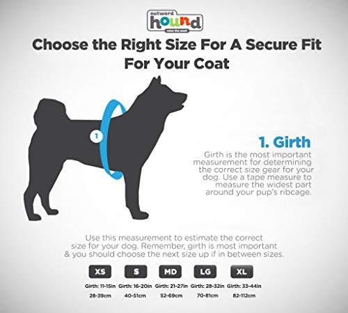 Kyjen 22019 Outward Hound Ripstop Quick Release Easy Fit Rettungsweste für Hunde, verstellbar, Größe S, orange - 4